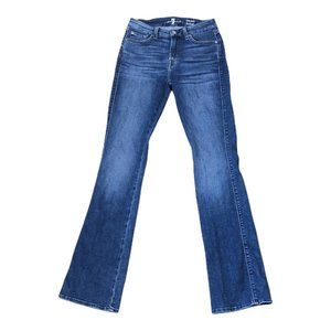 7 For All Mankind Womens  Kimmie Bootcut Jeans 27
